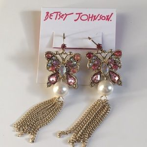 Brand NWT Betsey Johnson Earrings